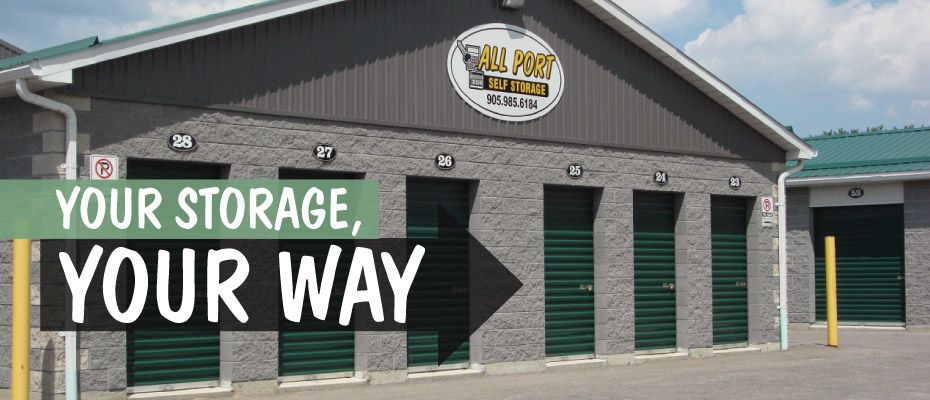 Your Storage, Your Way - Our facility